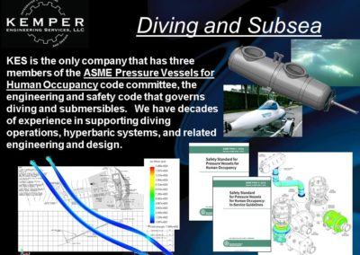 Subsea Engineering and Diving